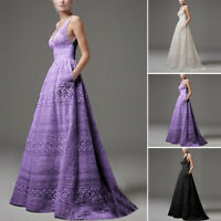 Formal Party Wedding Bridesmaid Prom Evening Coaktail Graduation Ball Long Dress