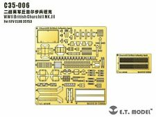 ET Model 1/35 #C35006 Churchill MK.III Detail Up Set for AFV Club 35153