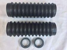 Honda CB750K,CB500,CB550,CL450,CB450 FRONT FORK BOOT RUBBER GAITER Rebuilt Kit