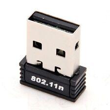 USB Inalámbrico 802.11n/b/g Wifi 2.0 150 Mbps adaptador de tarjeta de red LAN Dongle Laptop