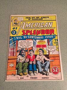 American Splendor #1 1976 Harvey Pekar Crumb Gary Dumm Underground Comic Comix