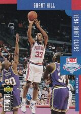 Grant Hill NBA Basketball Trading Cards 1994-95 Season