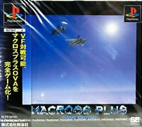 USED PS1 PS PlayStation 1 Macross Plus game edition 38265 JAPAN IMPORT