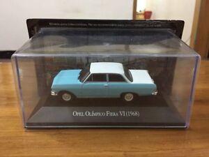 New 1/43 Scale Die-Cast Model Car - Opel Olimpico Fiera VI 1968