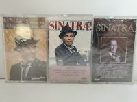 Frank Sinatra 3 Cassette Tape, Capitol Records, 1983/1984/1985 SEALED