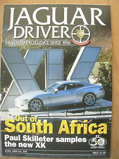 JAGUAR DRIVER MAGAZINE No 549 APRIL 2006 THE NEW XK