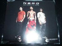 Nerd / N.E.R.D / Pharrell Williams She Wants To Move Australian CD Single