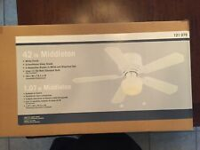 Middleton 42 Inch Ceiling Fan With Reversible Finish Blades