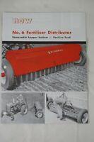 IH Farmall McCormick No. 6 Fertilize Distributor Drop Speader Sales Brochure
