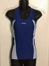 Zoot Women's Performance Tri Racerback Top Built In Bra Size S Small 2-Tone Blue