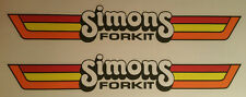 VINTAGE MOTOCROSS Simons Forkit Fork Kit decal stickers CR YZ RM KX 125 250 500