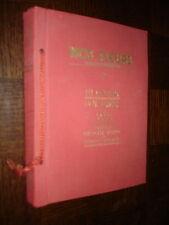 NOS FLEURS 2 - Ph. Robert Dr H. Spinner 1937 - Chocolat Suchard Suisse