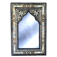 Orientalischer Spiegel Orient Marokko Marokkanischer Wandspiegel S19 H60 cm