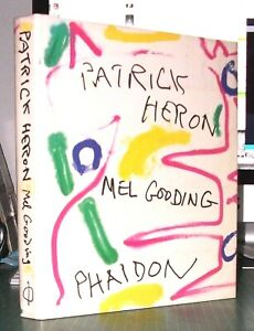 PATRICK HERON by Mel Gooding(Hand Signed) - Large Hardback Book,1st edition 1994