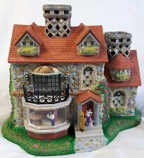 Partylite P7322 The Bristol House Olde World Village Tealight Candle Holder