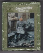 ROYAL MODEL 144 - OBERGEFREITER (RUSSIA '43) - 1/35 RESIN KIT