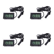 4PCS Mini Digital LCD Hygrometer Thermometer Temperature Humidity Meter Gauge