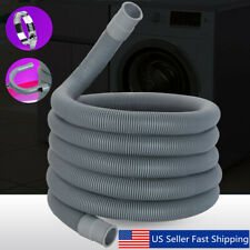 2.5M Universal Flexible Extension Drain Hose Water Pipe Washing Machine