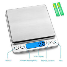 Mini Digital Kitchen Scale, Multifunction Food Scale, 0.1g-3kg, Tare & PCS