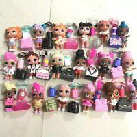 Lot 5 LOL Surprise Dolls Random big sister with Random Dress Shoes Bottle Bag