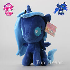 New MLP My Little Pony Nightmare Moon Luna Plush Toy Soft Stuffed Doll 10'' Gift