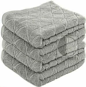 Egyptian Cotton Towels Luxury GEO Hand Bath Sheet Large Bathroom 600GSM Pack 2