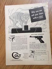 1954 Colt Caliber 22 Automatic Pistol Sport Model Woodsman .22 Long Rifle