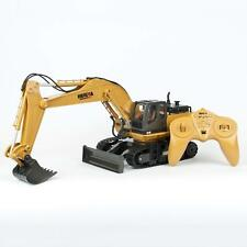 Remote Control Excavator Digger Bulldozer 11 Channel RC 2.4Ghz