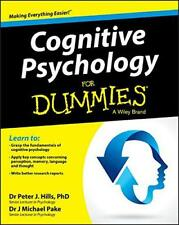 Cognitive Psychology For Dummies(R) by Pake, Michael, Hills, Peter J. | Paperbac