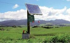 Electric Fence Energizezr Charger, 30W + Solar Panel Controller, Farm, livestock