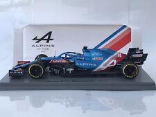 Spark S7664 Alpine A521 Fernando Alonso Bahrain GP Formula 1 2021 1:43