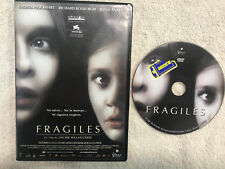 FRAGILES JAUME BALAGUERO CALISTA FLOCKHART  RICHARD ROXBURGH TERROR ANAYA DVD