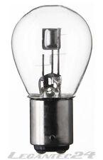 Glühlampe 12V 35/35W Bax15d Glühbirne Lampe Birne 12Volt 35/35Watt neu