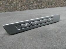 Original BMW 7er F01 5er F07 Bedieneinheit Sitzzusatzfunktionen Memory 9163072