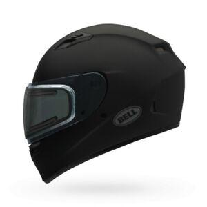 Bell Qualifier Flat Black Dual Lens Face Shield Snowmobile Riding Helmet X-Large