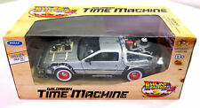 WELLY 1:24 DELOREAN TIME MACHINE MACCHINA DEL TEMPO RITORNO AL FUTURO 3   22444W