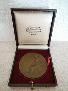 Médaille de Bronze de la ville de Béthune, graveur René Baudichon