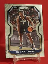 New listing 2020-21 Panini NBA Prizm Zion Williamson #185 New Orleans Pelicans