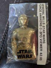 General Mills Star Wars Force Awakens Red Arm C-3PO Viewer