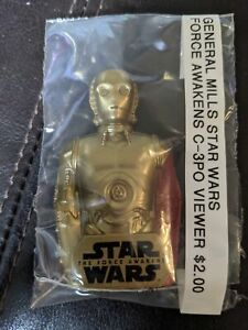General Mills Star Wars Force Awakens Red Arm C-3PO Viewer