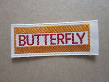 Butterfly (Style 1) Woven Cloth Patch Badge