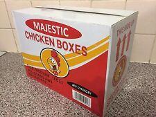MAJESTIC SOUTHERN FRIED CHICKEN FC1 CHICKEN BOXES VIRGIN BOARD TAKEAWAY CHKN BOX