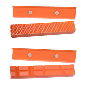 """6"""" Vise Jaw Pads Insert Pad for Table Vise Drilling Machine Woodworking"""