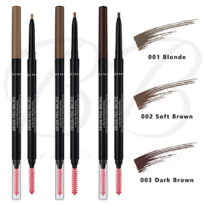 RIMMEL Brow Pro Micro Precision Waterproof Eyebrow Pencil Definer with Brush NEW