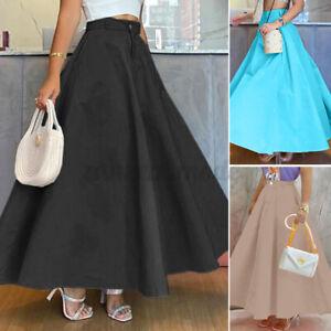 Women Victorian Skirts Formal Retro Swing Skirt Dress A Line Elegant Skirts Plus