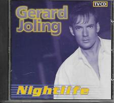 GERARD JOLING - Nightlife CD Album 13TR Europop Disco 1997 Holland