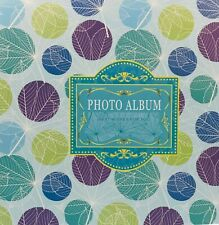 Large Self Adhesive Photo Album Hold Various Sized Picture Upto A4 Dots XMASGIFT