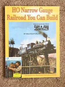 HO Narrow Gauge Railroad You Can Build - Furlow 2008 Softcover San Juan Central