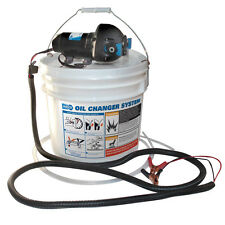 JABSCO DIY OIL CHANGE SYSTEM W/ PUMP AND 3.5 GALLO