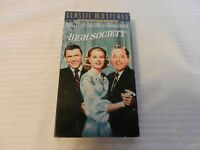 High Society (VHS, 2000, Classic Musicals Collection) Crosby, Sinatra, Kelly